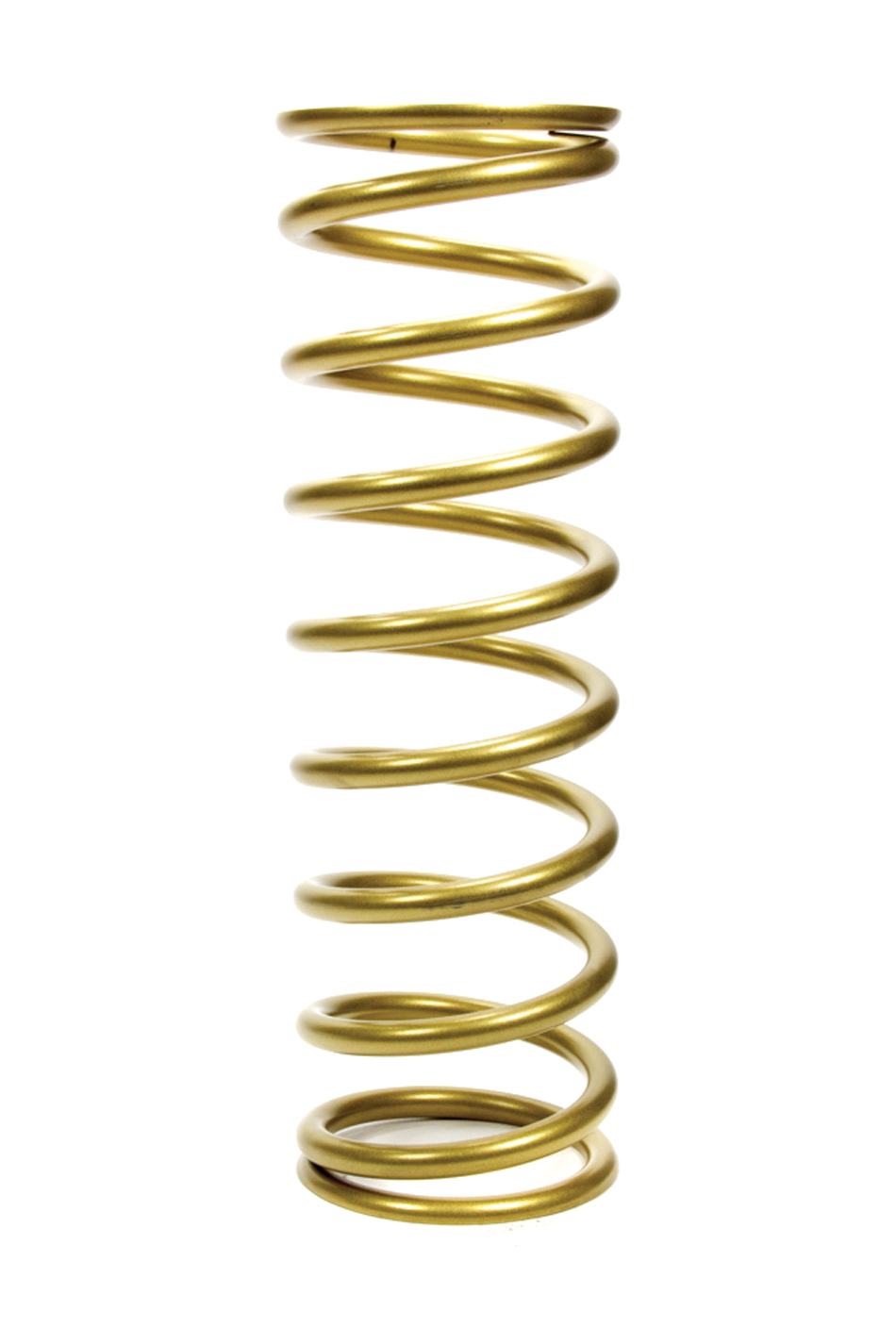 Landrum Springs K16-075 Coil Spring, Conventional, 5.0 in OD, 16.000 in Length, 75 lb/in Spring Rate, Rear, Gold Powder Coat, Each
