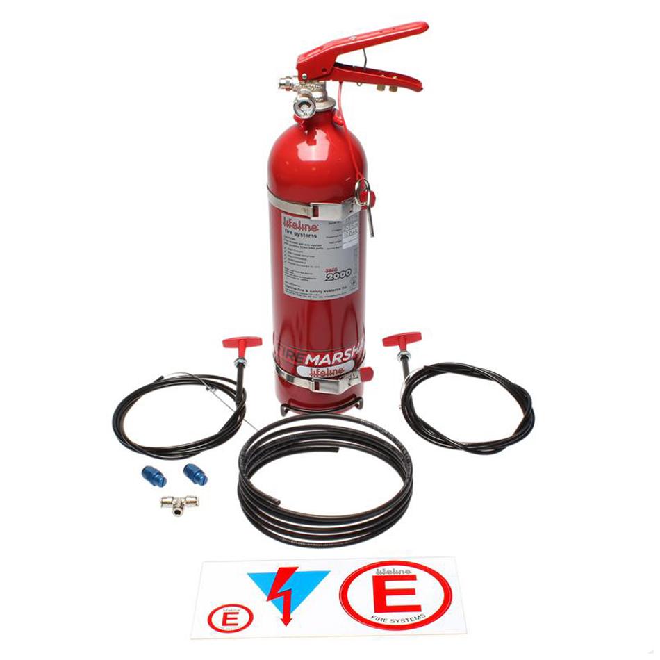 Fire Suppression Club System Zero 2000 2.25 KG