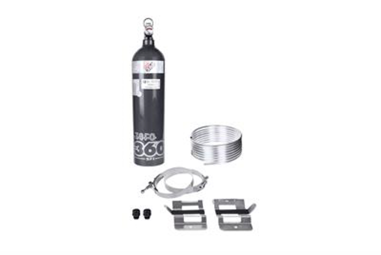 Lifeline USA 103-101-004 Fire Suppression System, Zero 360, Novec 1230, 5.0 lb Bottle, Steel Tubing, Fittings / Hose / Mount, Kit