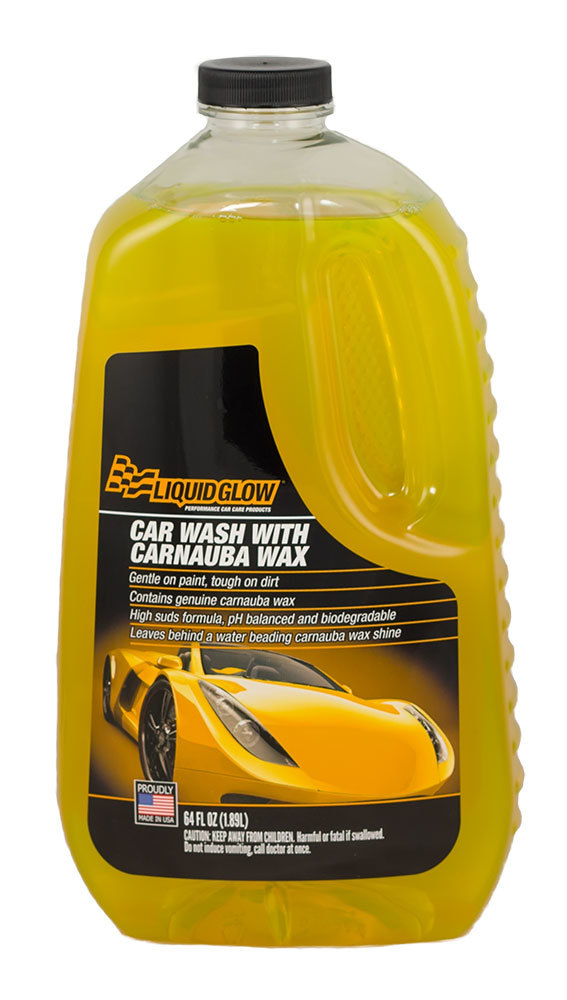 Car Wash with Carnauba 64oz Bottle