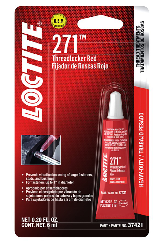 Threadlocker 271 HD Red 6ml/.20oz