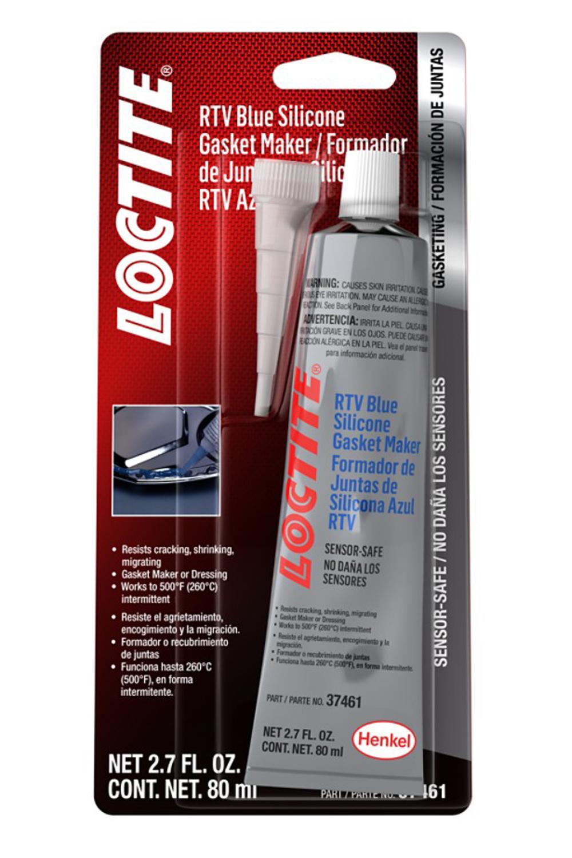 Loctite 491980 Sealant, Sensor Safe Blue RTV, Silicone, 80 ml Tube, Each