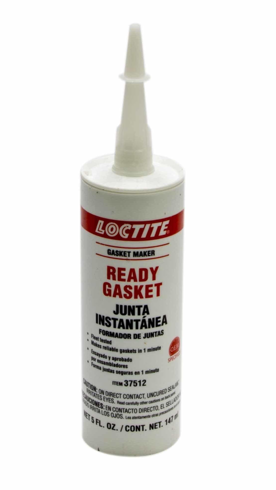 Loctite 494150 Sealant, Black Gasket Maker, Silicone, 5 oz Cartridge, Each