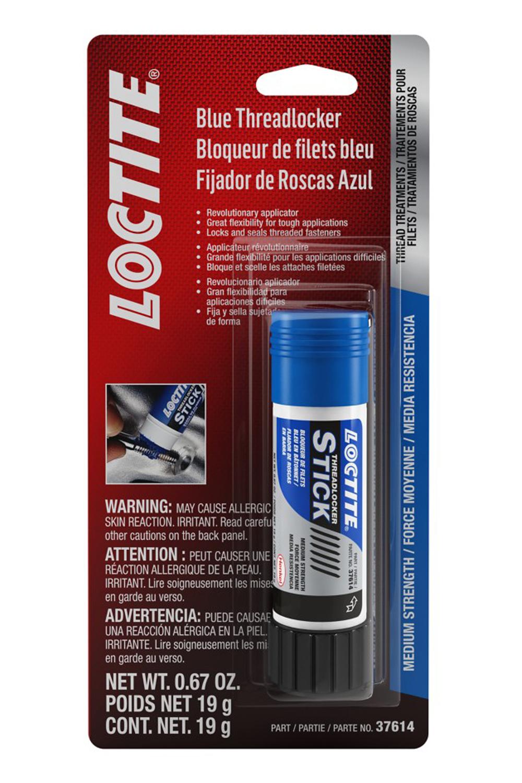 Loctite 504466 Thread Locker, Blue 242, 19 g Stick, Each
