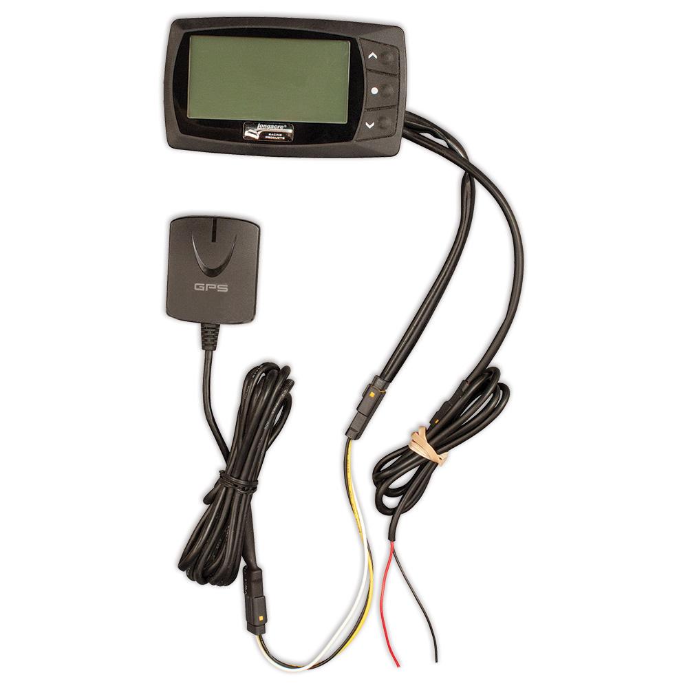Longacre 52-21730 Lap Timer, Hot Lap, 200 Lap Memory, GPS Sender, Lap Counter, 12V DC, Kit