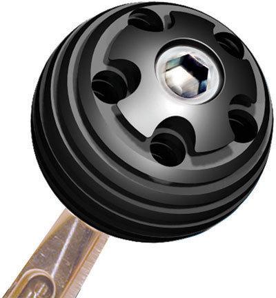 Shifter Knob Alum 3/8in-16