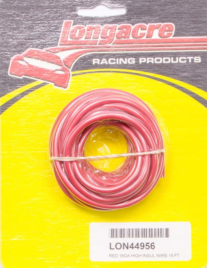 Wire 16 Gauge 15ft Red