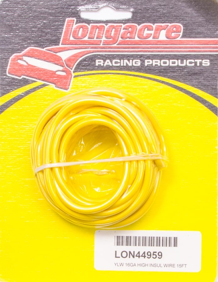 Wire 16 Gauge 15ft Yellow