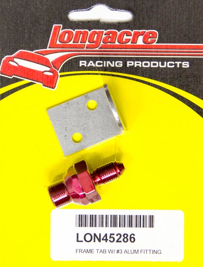 Brake Fitting w/Tab #3-3/16in Bulkhead