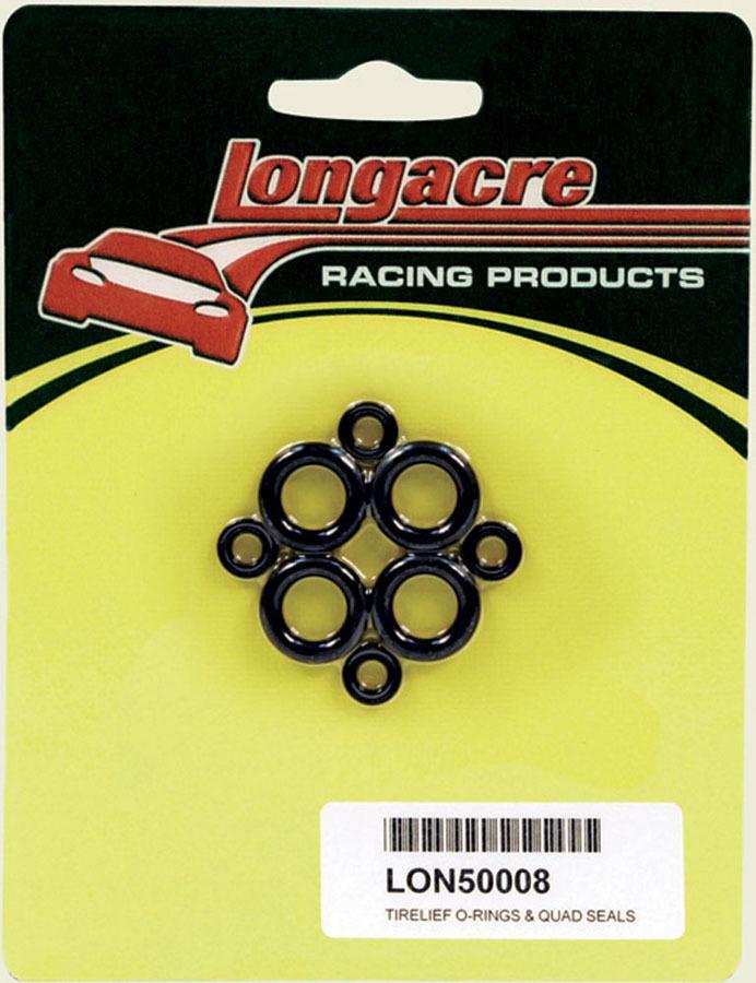 Longacre 52-50008 O-Ring, Rubber, Longacre Tire Pressure Relief Valve, Kit