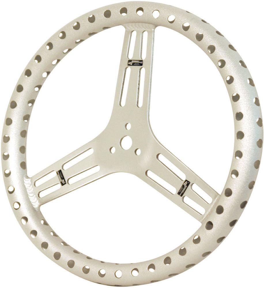Steering Wheel 15in Flat & Drilled