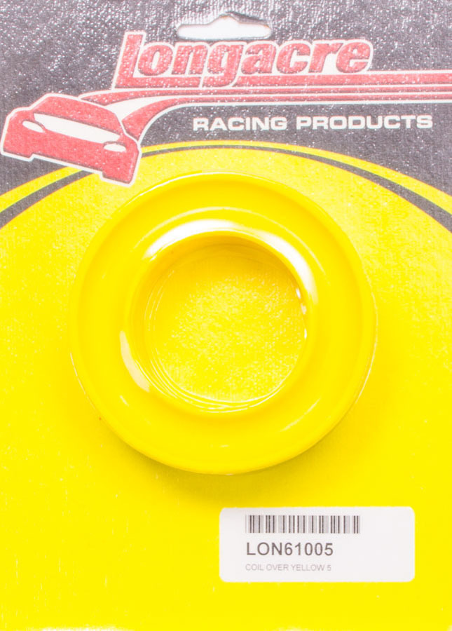 Coil Over Spring Rubber Yellow 5