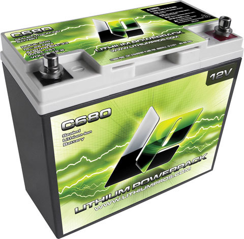 Lithium-Ion Power Pack 12v 800 Max Amp