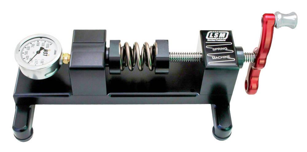 LSM Racing Products SM-1000 Valve Spring Tester, Bench Mounted, Analog, 1000 lb Range, Each