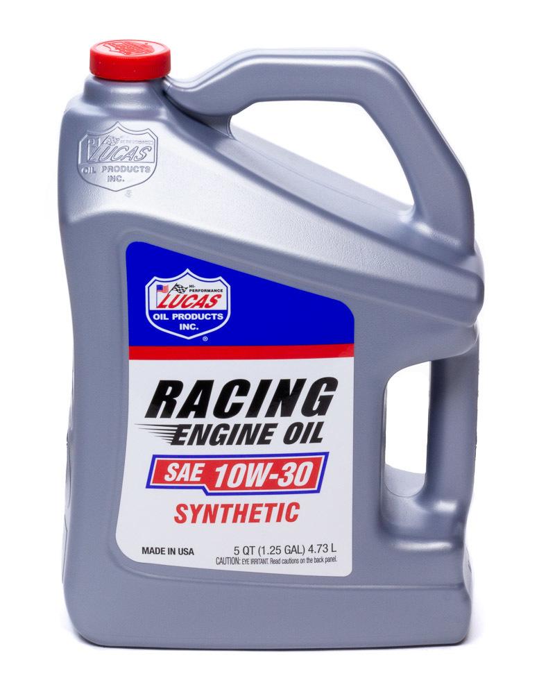 Synthetic Racing Oil 10w -30 5qt Bottle