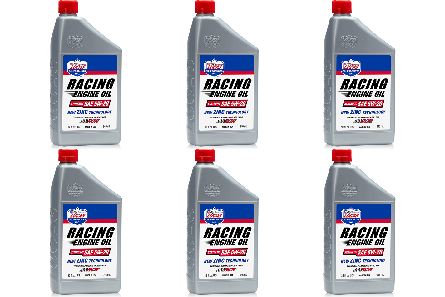 5w20 Synthetic Racing Oil Case 6 x 1 Quart