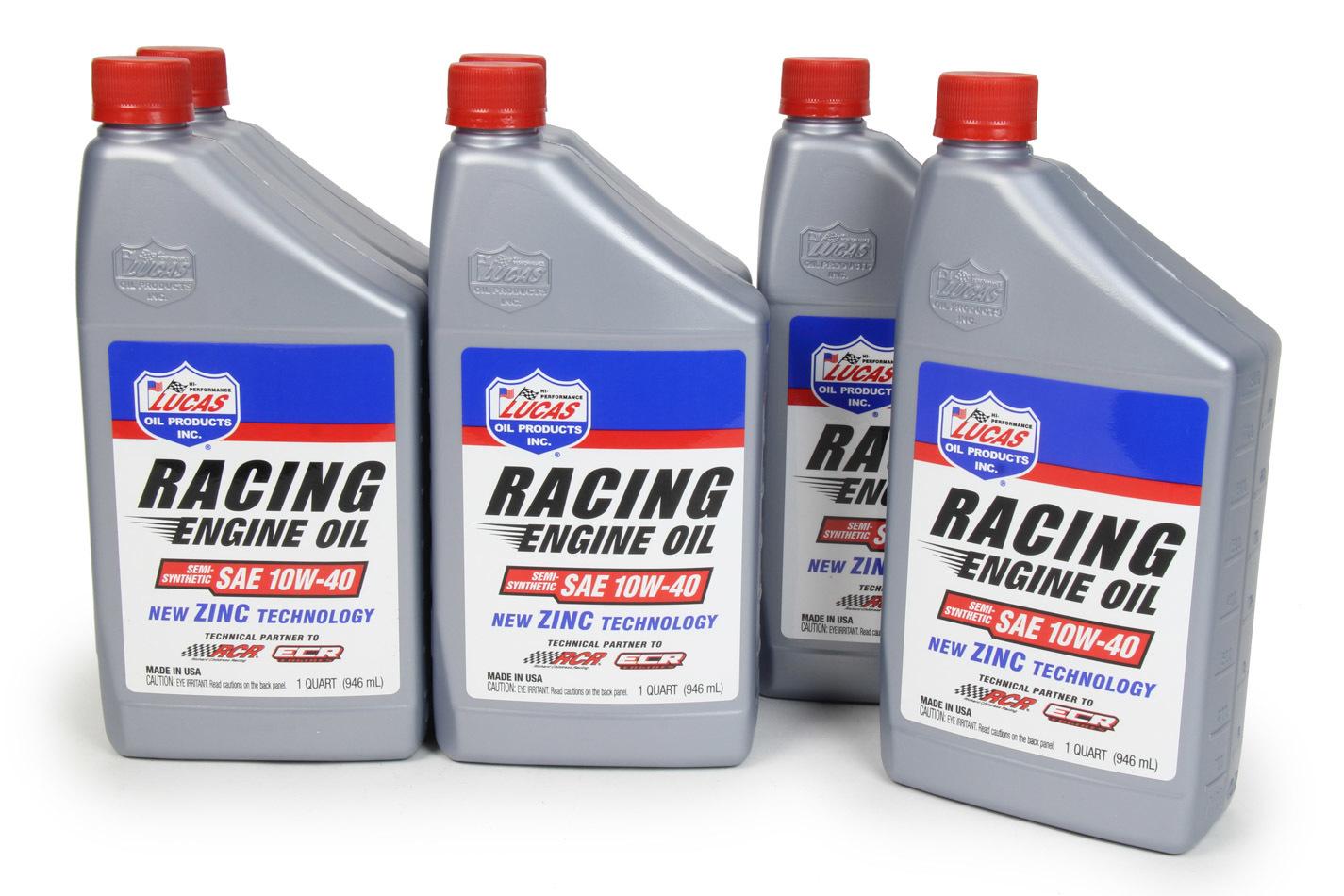 10w40 Semi Synthetic Racing Oil Case 6x1 Qt.