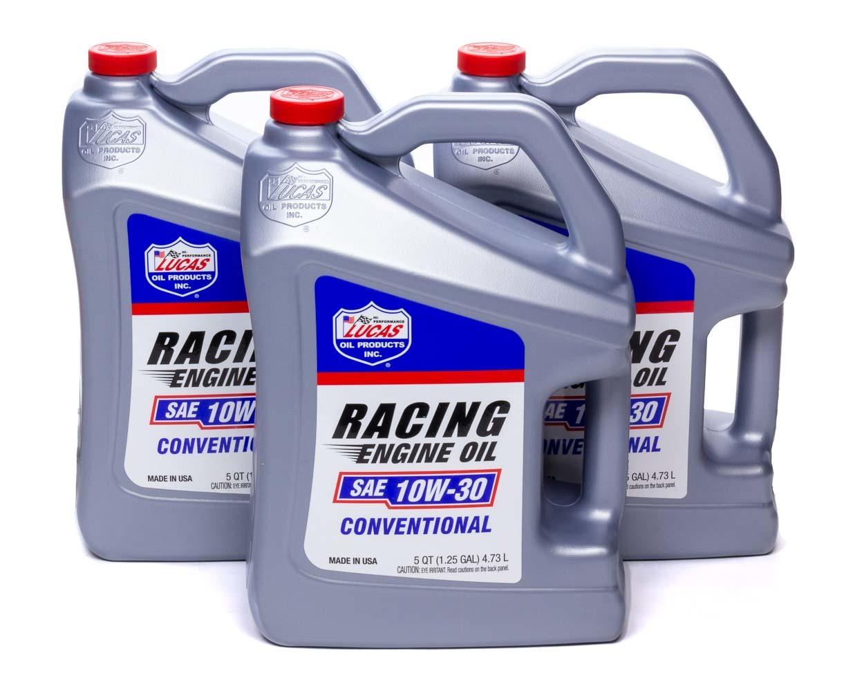 SAE Racing Oil 10w30 Case 3 x 5qt Bottle