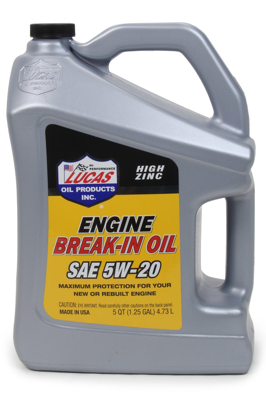 SAE 5w20 Break-In Oil 5 Quart
