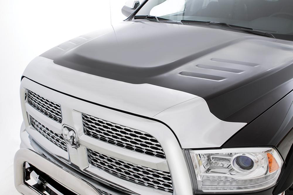 09-   Dodge Ram 1500 Hood Defender Chrome