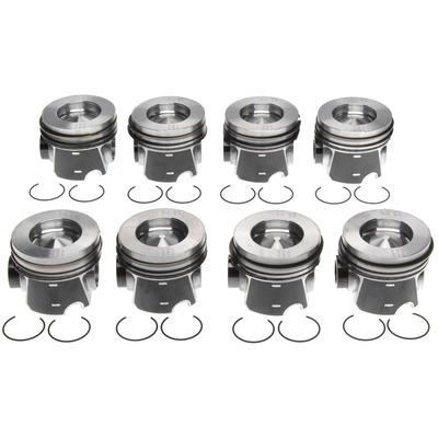 Piston Set w/Rings Ford 6.4L Diesel 8pk
