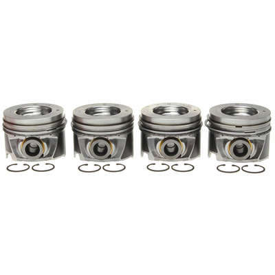Piston Set w/Rings   4pk GM 6.6L Duramax LH