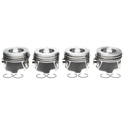 Piston Set w/Rings   4pk GM 6.6L Duramax RH