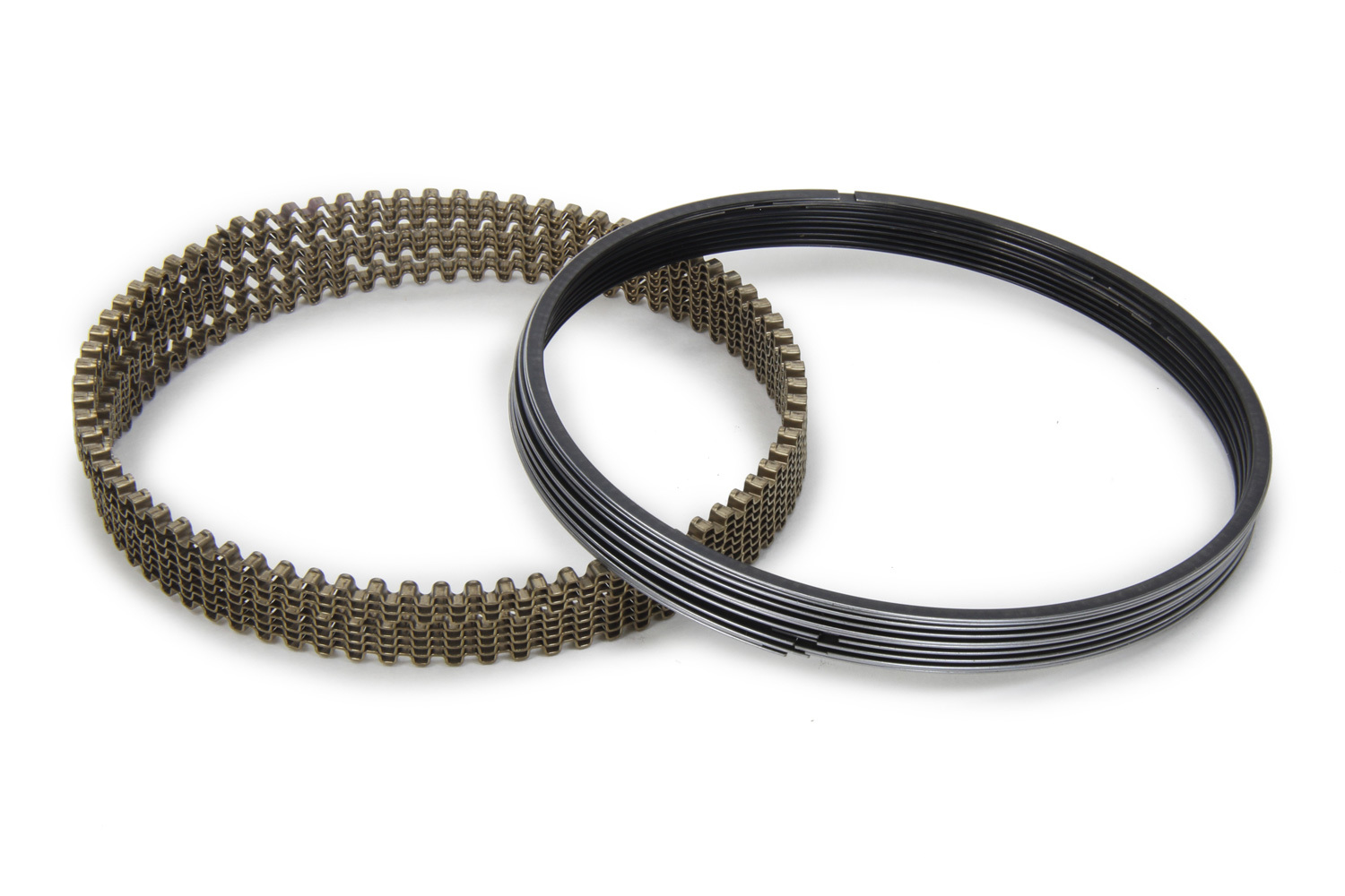 Michigan 77 3030239 Piston Rings, 4.170 in Bore, 0.154 in x 0.154 in x 3.0 mm Thick, Low Tension, Steel, Chrome, Kit