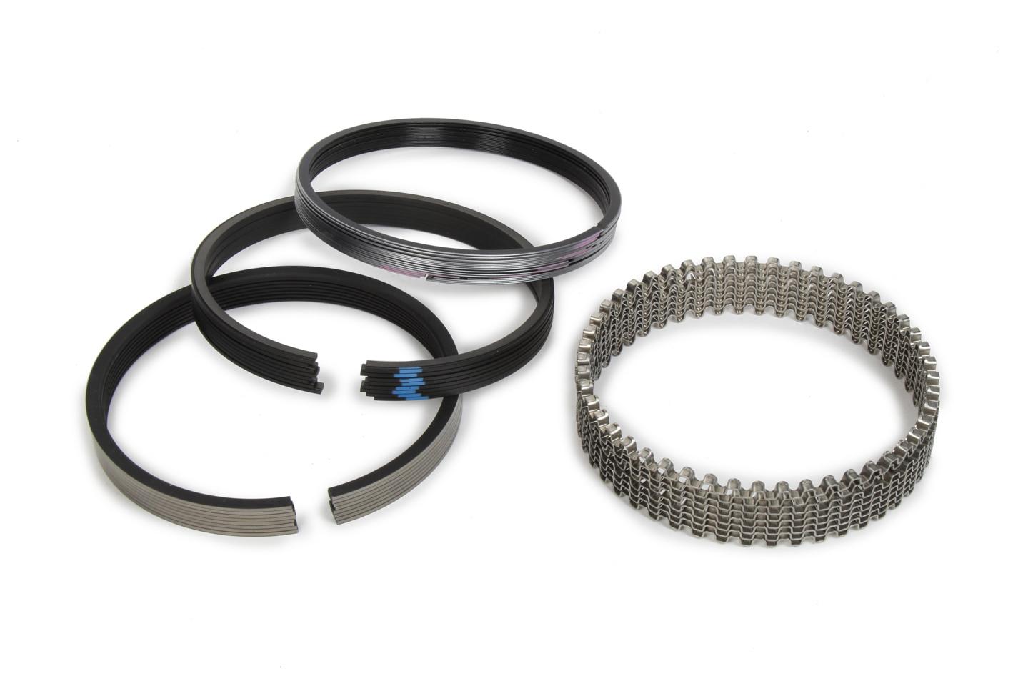 Piston Ring Set 4.350 Moly 1/16 1/16 3/16