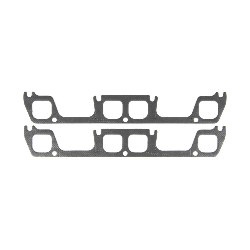 MICHIGAN 77 Header Gasket Set - SBC D-Port 1.750 x 1.600 P/N - MS19977