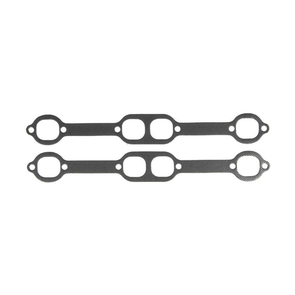 MICHIGAN 77 Header Gasket Set - SBC Oval-Port 1.740 X 1.600 P/N - MS19978