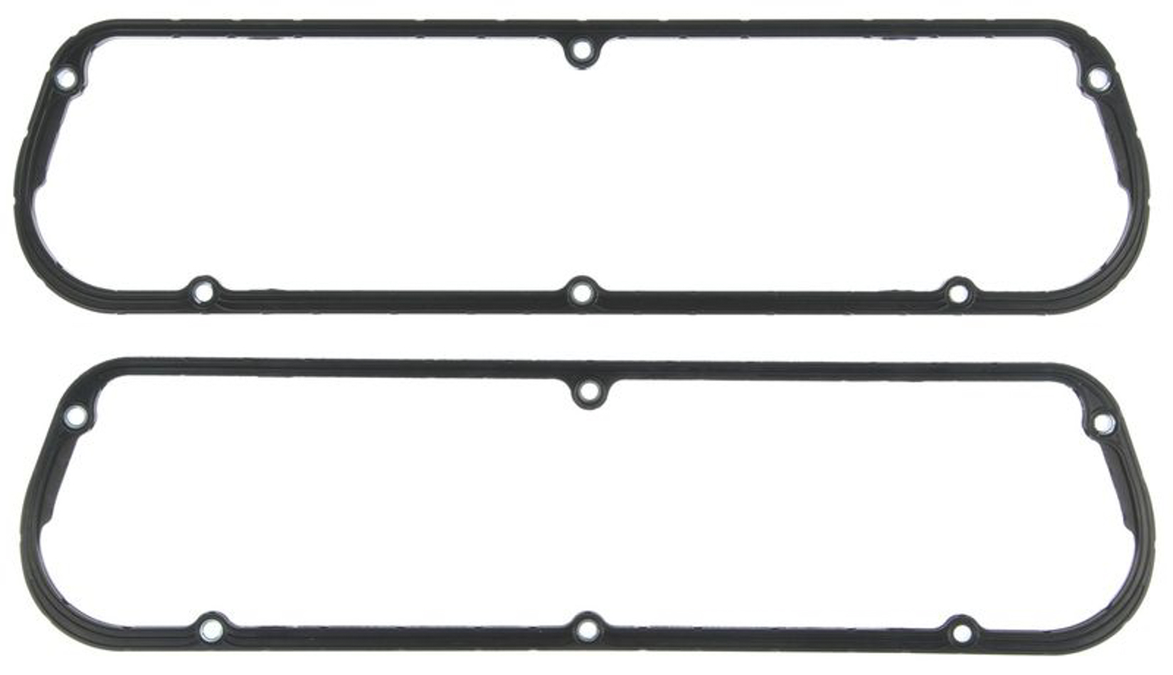 Michigan 77 VS50756 Valve Cover Gasket, 0.225 in Thick, Steel Core Silicone Rubber, Small Block Ford, Pair