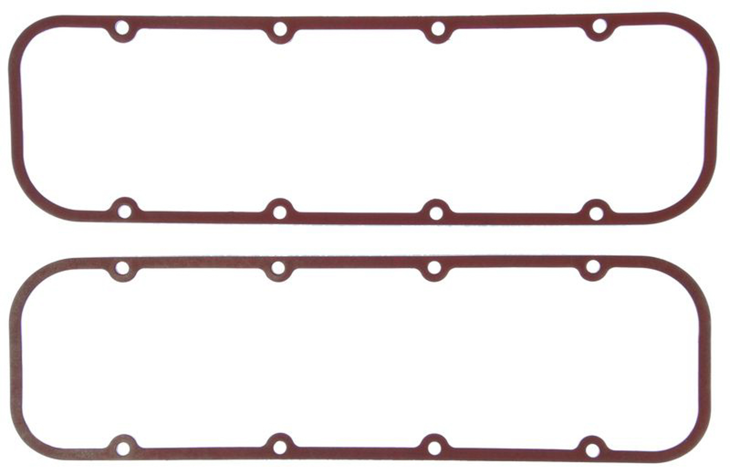 Michigan 77 VS50764 Valve Cover Gasket, 0.080 in Thick, PTFE Coated Fiber, Small Block Chevy, Pair