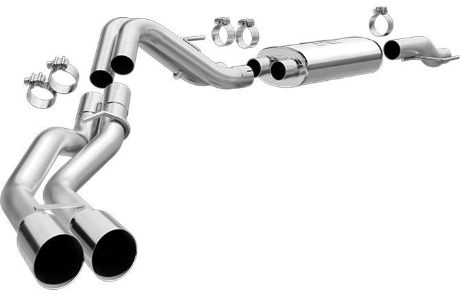 15-   Ford F150 5.0L Cat Back Exhaust Kit