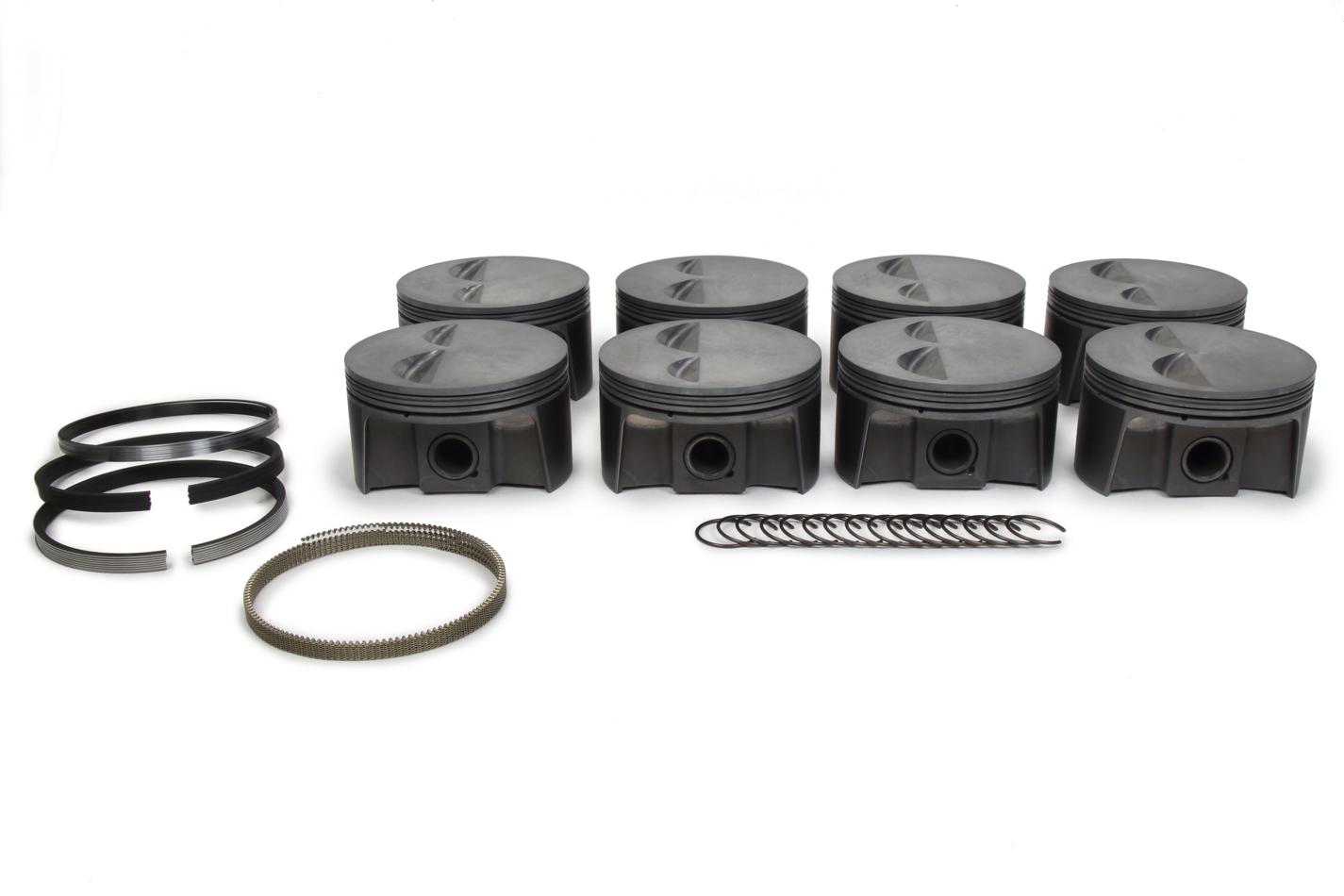 SBC PowerPak F/T Piston Set 4.060 Bore