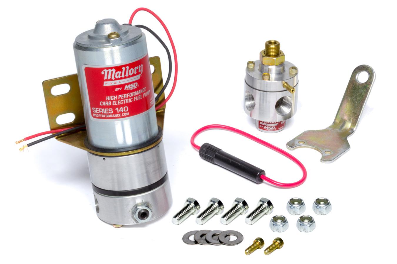 Electric Fuel Pump w/Reg
