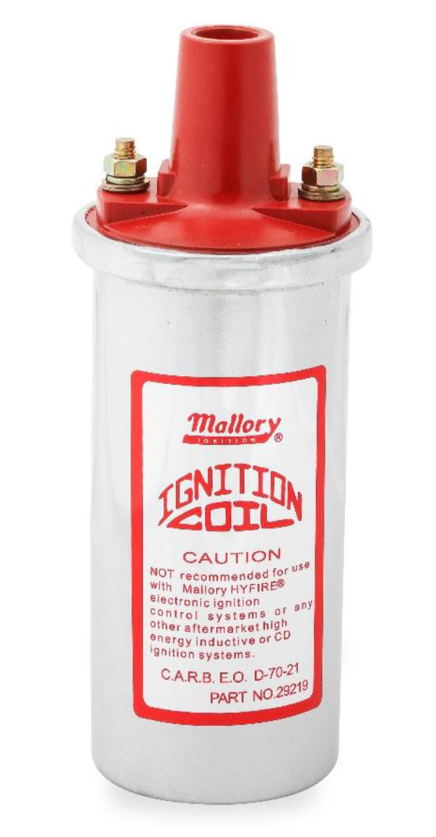 Mallory Chrome Coil Canister Style