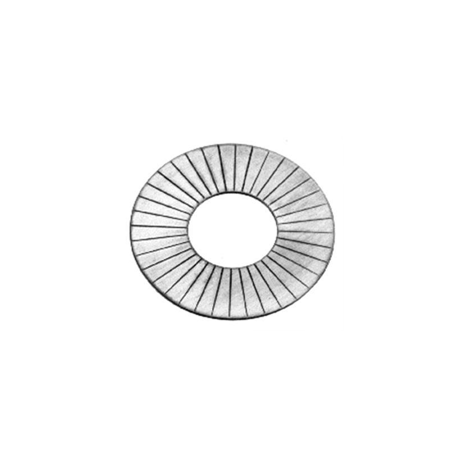 Manley 03273-50 Valve Spring Shim, 0.030 in Thick, 1.625 OD, 0.645 ID, Steel, Set of 50