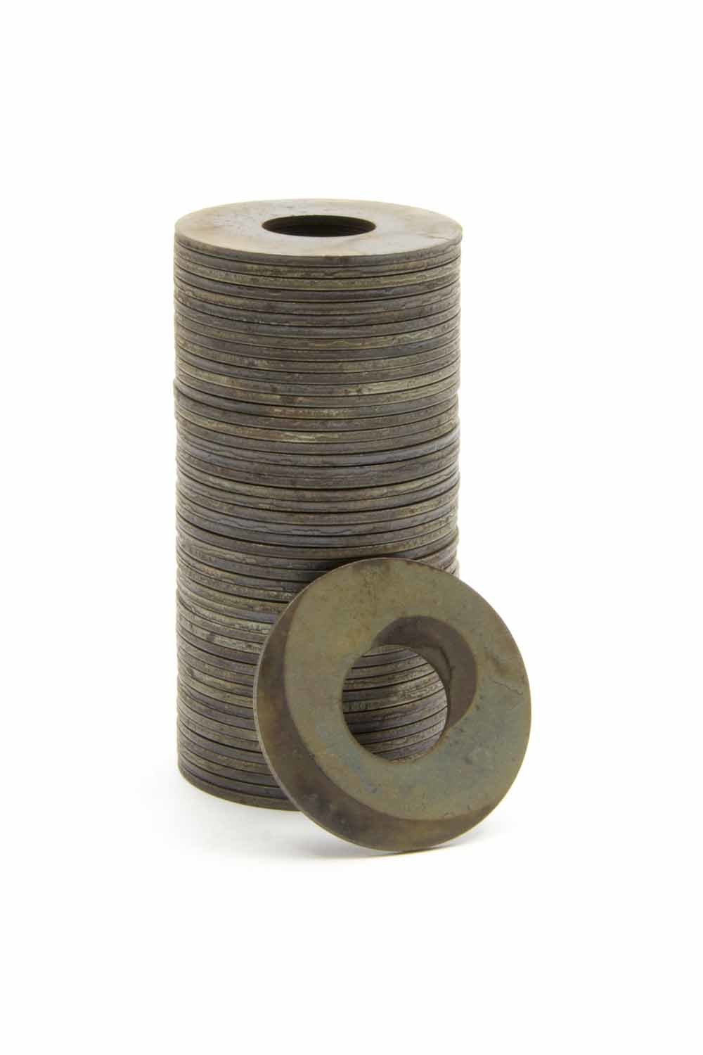 Manley 03276-50 Valve Spring Shim, 0.060 in Thick, 1.625 OD, 0.645 ID, Steel, Set of 50