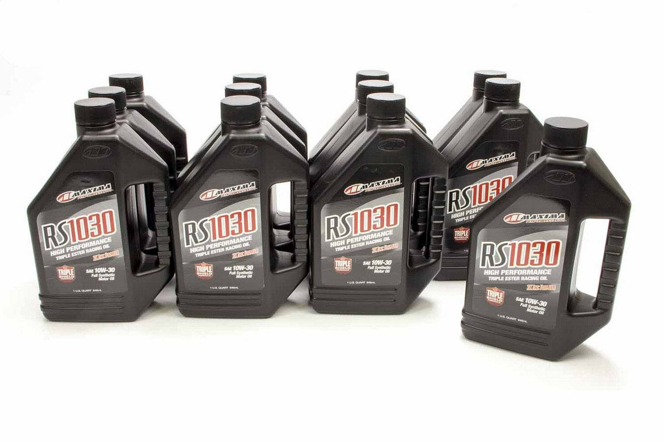 Maxima Racing Oils 39-01901 Motor Oil, RS, 10W30, Synthetic, 1 qt Bottle, Set of 12