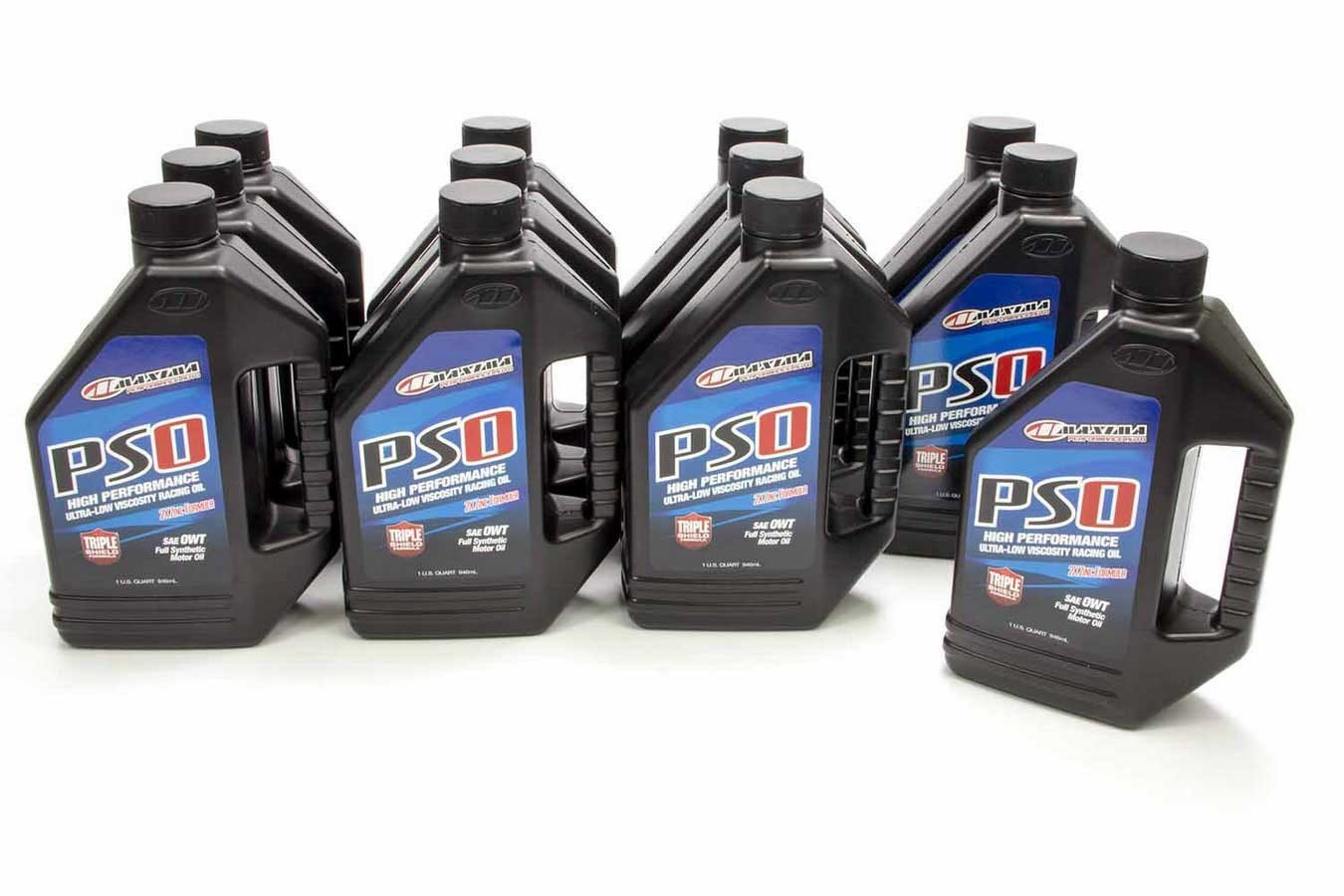 Maxima Racing Oils 39-03901 Motor Oil, PS0, 0W, Synthetic, 1 qt Bottle, Set of 12