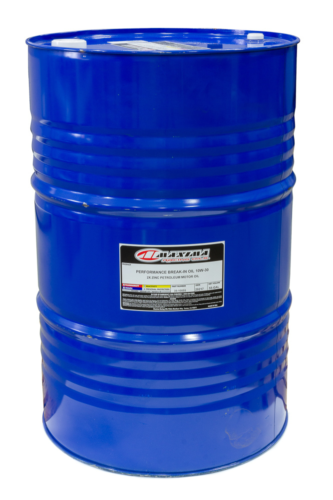 10w30 Break-In Oil Gallon Drum