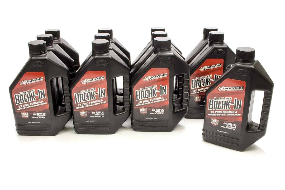 10w30 Break-In Oil Case 12x1 Quart