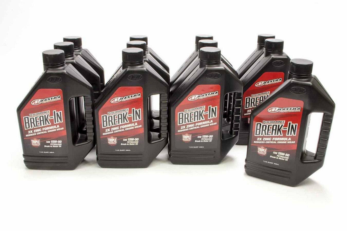 15w50 Break-In Oil Case 12x1 Quart