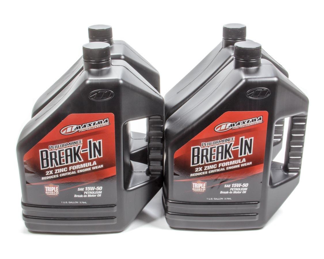 15w50 Break-In Oil Case 4x1 Gallon