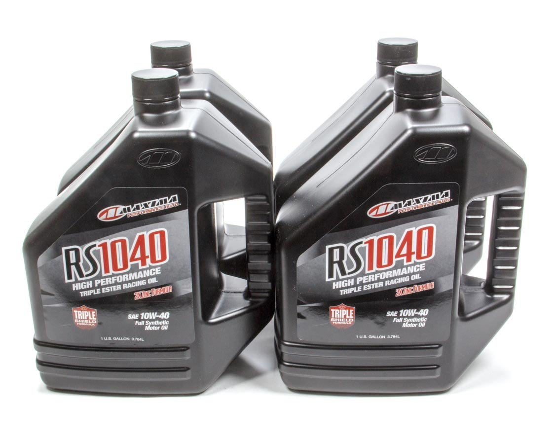 10w40 Synthetic Oil Case 4x1 Gallon RS1040