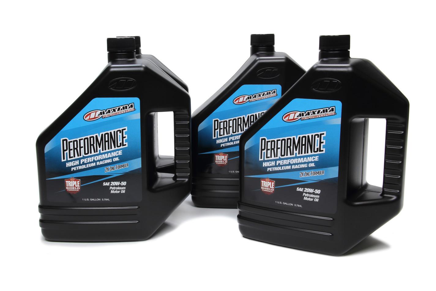 20w50 Petroleum Oil Case 4x1 Gallon