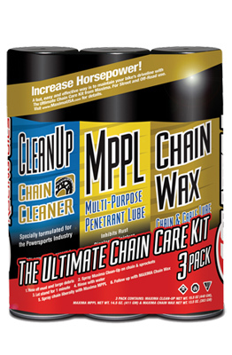 Chain Wax Ultimate Chain Care Combo Kit 3-Pack