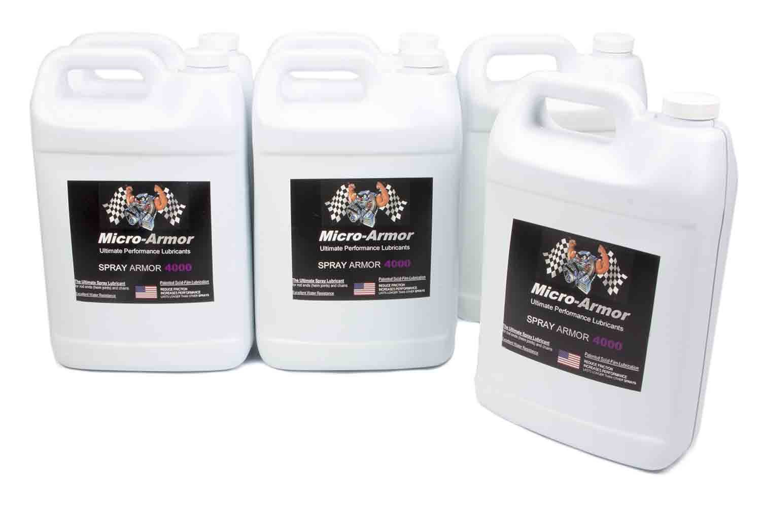 4000 Spray Lubricant Case 6x1 Gal