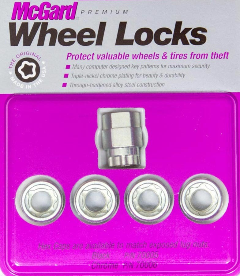 WHEEL LOCK 12MM X 1.50 CONICAL SEAT (4)
